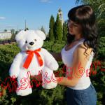 Плюшевый мишка белый 60 см Mishka46