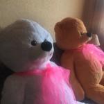 Плюшевый мишка Курск Сергей 160 см Белый 1 Mishka46.ru