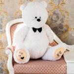 Мишка Тедди 100 белый